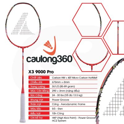 Vợt cầu lông Prokennex X3 9000 Pro