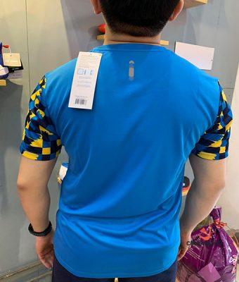 Áo cầu lông yonex xanh vàng